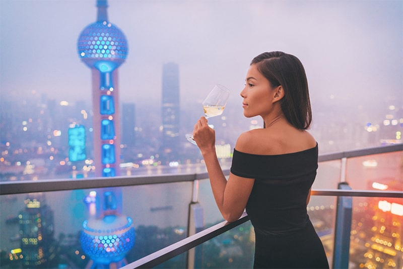 sell wine in china